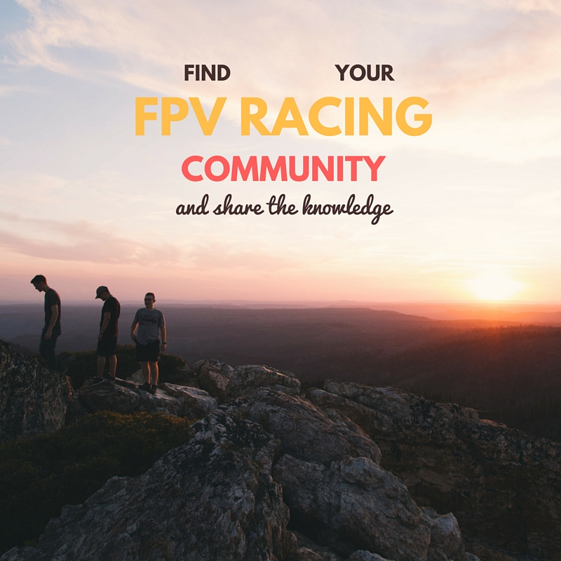 find fpv racing communities